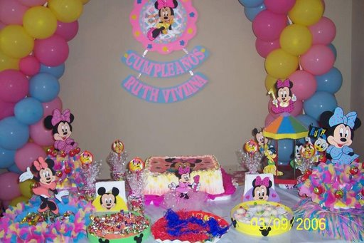 Decoración Minnie - Imagui