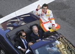 Alonso en Oviedo