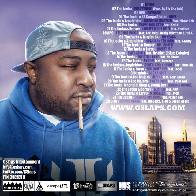the jacka gslaps mixtape back