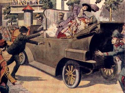 Gavrilo Princip - El Disparo que Conmocionó el Mundo El+asesinato+(001)
