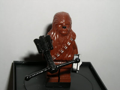 Custom LEGO Star Wars Wookie Crossbow - front view