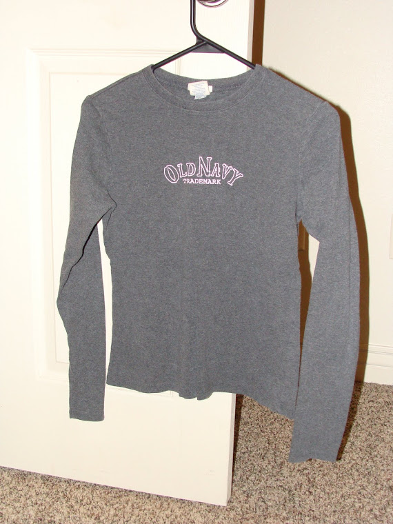 Gray Old Navy Long sleeve