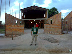 Templo Central em construção - IEAD Igreja Mãe Campo São Francisco/PA