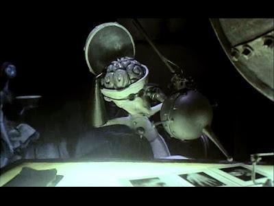 Doctor Finklestein has a skull that flips open to reveal his brain