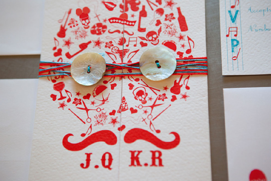 Monday Eye Candy Mexican Themed Wedding Invitations