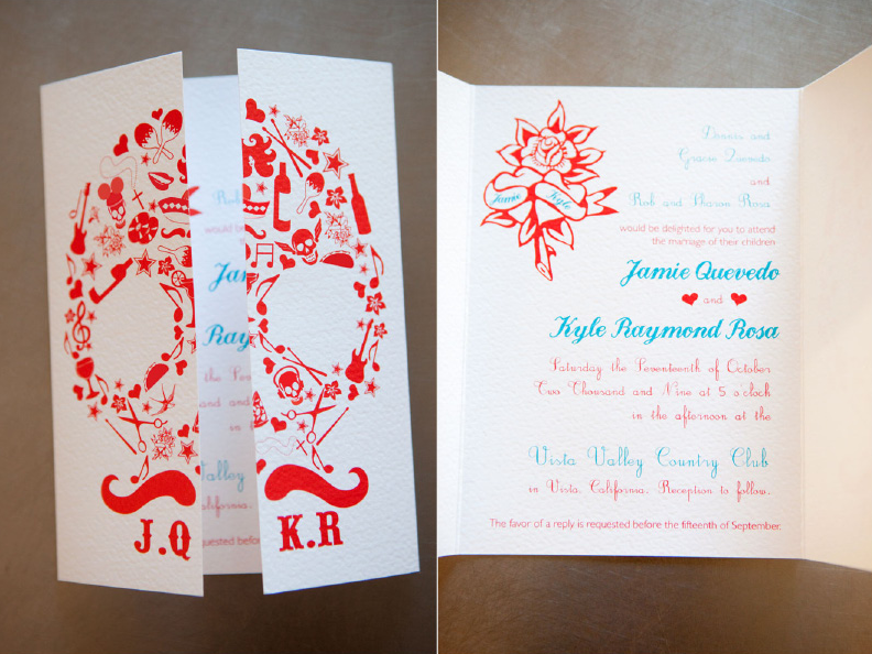 de Lovely Affair: {Monday Eye Candy} Mexican Themed Wedding Invitations