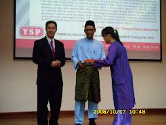 Penyampaian Anugerah Pelajar Terbaik Projek Awam - UPM