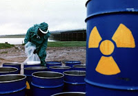 Dumping radioactive waste
