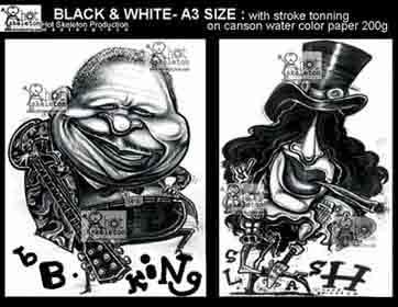 bb king & slash
