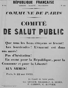 Comite De Salut Public, 1871