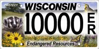 New Endangered Resources Plate