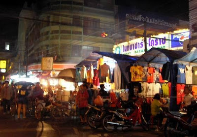 Nakhon ratchasima night Walking Street