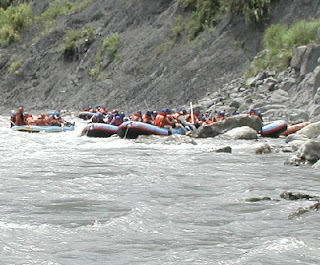 rafting on the hsiu ku luan river