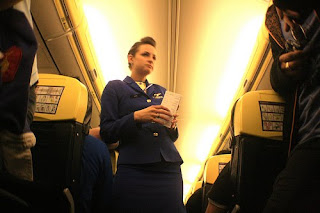 ryan air stewardess hostess
