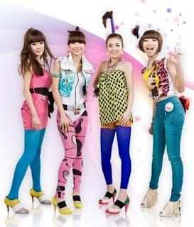 2NE1 korean girl