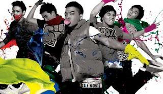 big bang korean boy band
