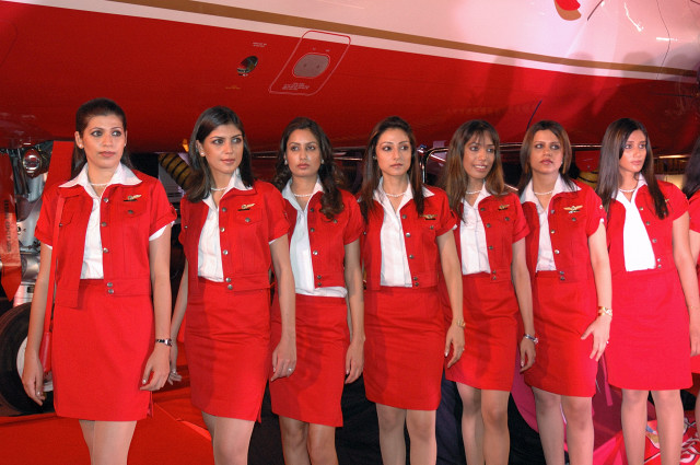 virgin america airlines stewardess