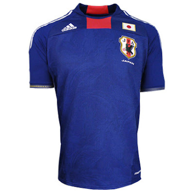 Japan World Cup Home Jersey 2010