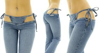 Sanna Brazil Blue Bikini Pants