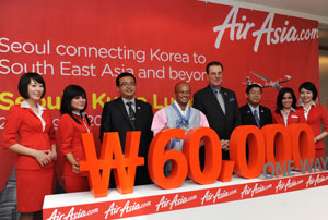 Airasia X Kuala Lumpur Seoul Incheon