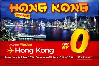 Airasia Medan Hong Kong