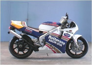 Rare sport bikes for sale honda nsr rothmans special edition