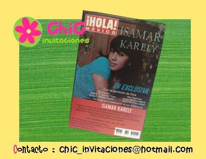 ●●●● Portada de Revista