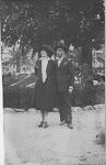 I miei nonni ai giardini della Spezia
