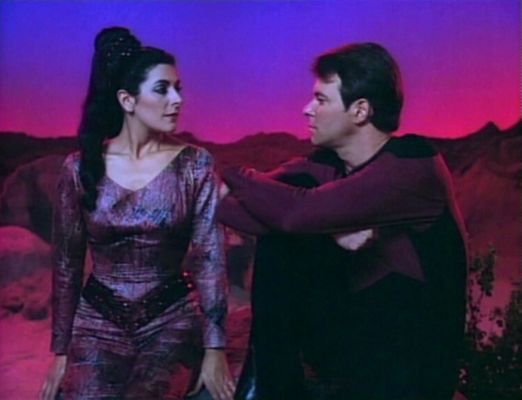 ... Jonathan Frakes pitch a new sitcom for Counselor Troi and William Riker.