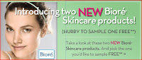Bioré: Check Your Email for Free Sample Offer