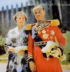 SS.AA.RR., Dom Duarte Nuno e Dona Maria Francisca, Duques de Bragança.