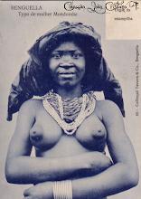 Tipo de mulher Mondombe - Benguela ANGOLA