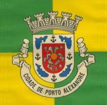 Era assim o escudo de Porto Alexandre
