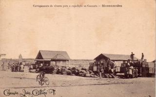 Mossãmedes: Carregamentos para a expedição no Cuamato