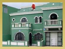 Vista de la Fachada del Instituto de Joyeria en Lima Peru