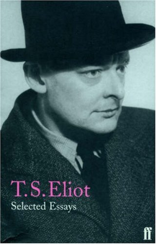 ts eliot essay dante 1929 In eliot's selected essays when dante is quoted without reference to t s eliot's work, the following translations are referenced, unless another.