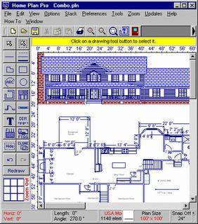 Menggambar Desain Rumah on Setelah Memilih Alat  Home Plan Pro Akan Memberitahu Bagaimana Untuk