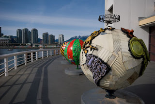 Cool Globes, Science World, Vancouver, BC, Canada