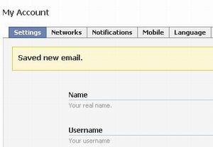 Facebook contact email