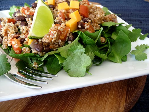 Quinoa Taco Salad from Good Life Eats