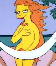 I Swear This Is Not The Reason Why I Watch The Simpsons Season After Season Really The Real Reason Is Because I Love Both Homer And Bart Simpson The Sexy