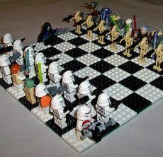 Love this lego star wars clone wars chess set made by anthony