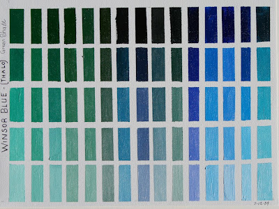 Little greene colour chart - Marie S Art Techniques Winsor Blue And Violet Color Charts