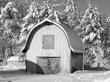 The 1935 barn...