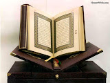 The Holy Quran, book of Islam.