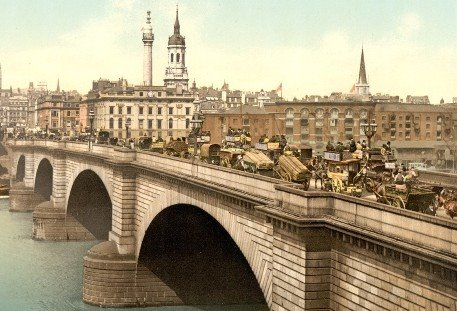 Old London  Bridge - Only  for Poets