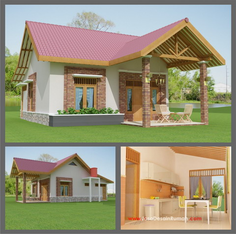 Design rumah kayu Easy house design software