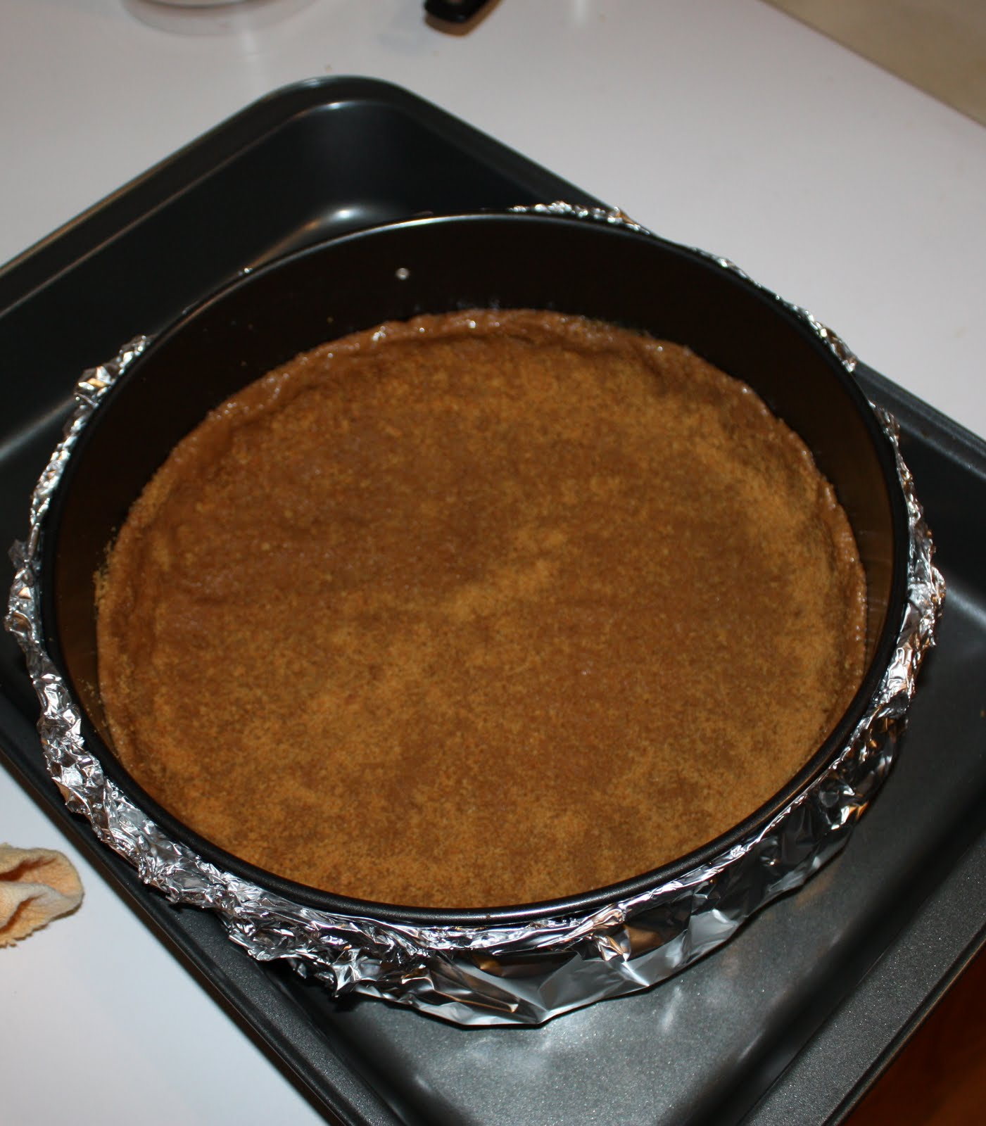 Family Recipe Log: Bake-A-Long #5: Pure Pumpkin Cheesecake