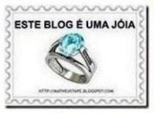 """Selinho """"Este Blog é uma Jóia"""""""