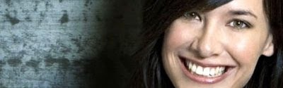 Jade Raymond's lovely smile and deep brown eyes that you could get lost in